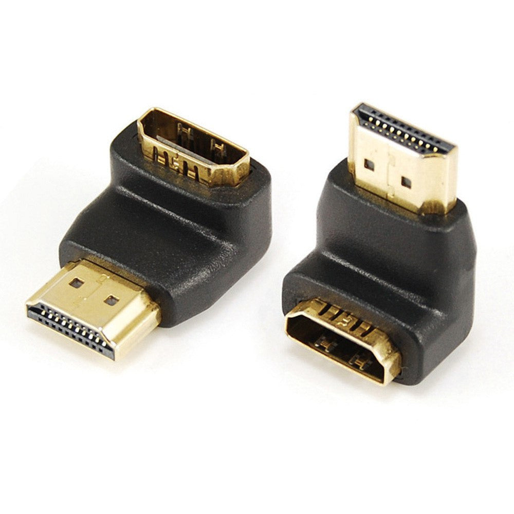 HDMI A (M-F) Adapter 270 Degree Elbow - Timberwolf Supply