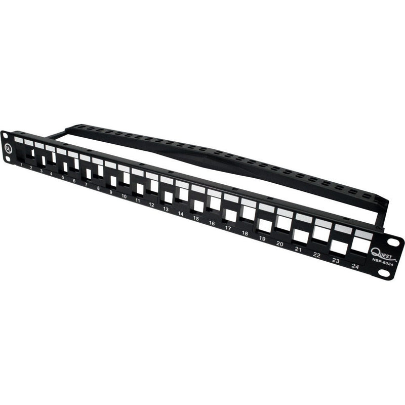 Unloaded High Density Staggered UTP Patch Panels - Timberwolf Supply
