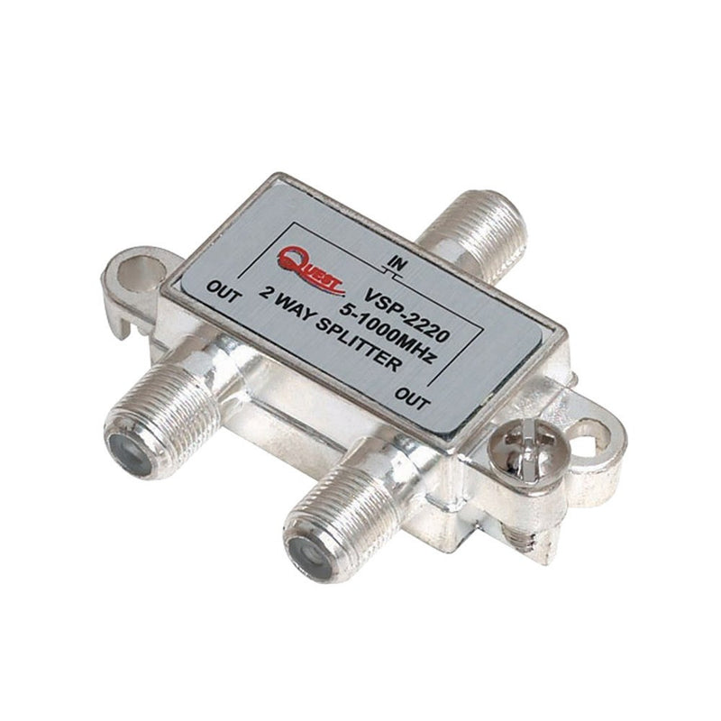 1 GHz 2 Way Cable TV Horizontal Splitters - Timberwolf Supply