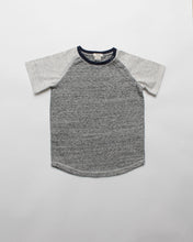 Load image into Gallery viewer, the baseball tee - grey marl