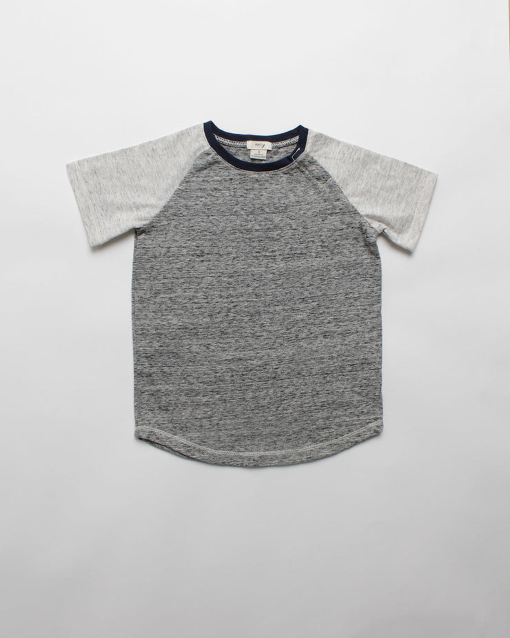 the baseball tee - grey marl