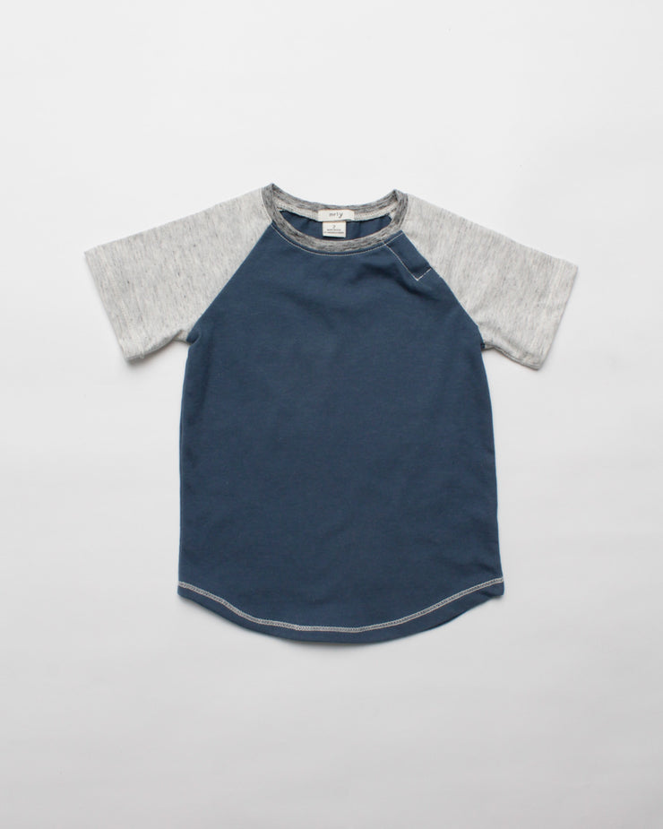 the baseball tee - blue