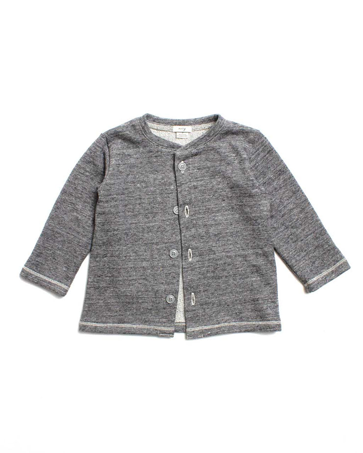 the cardigan - grey heather