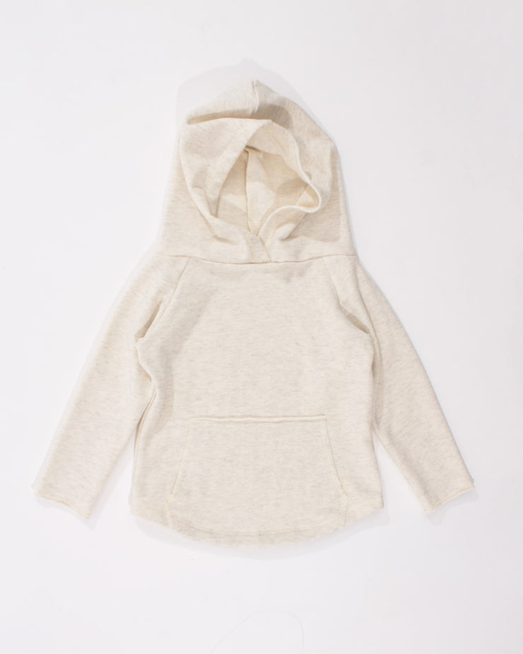the cozy hoodie - cream heather
