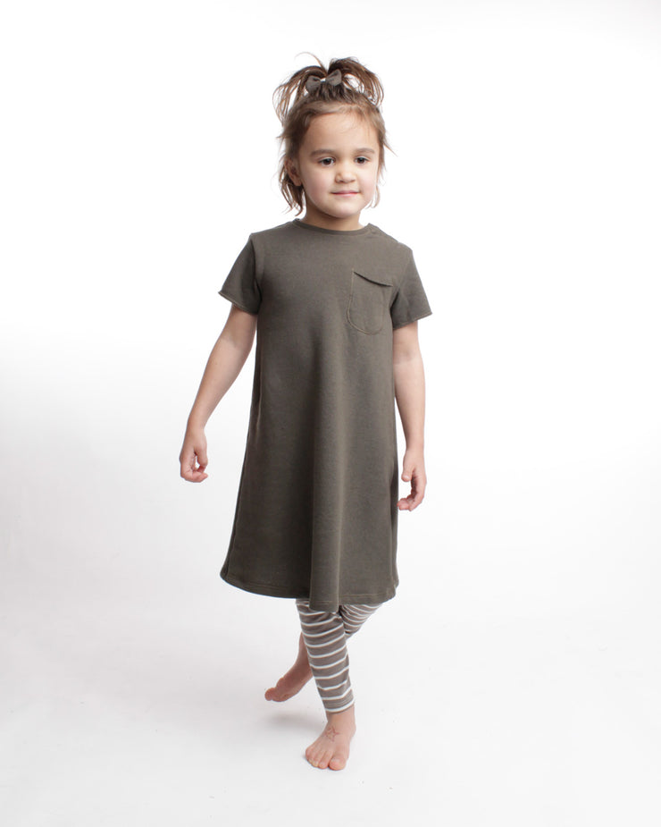 the play dress - olive