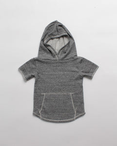 the cut-off hoodie - grey heather