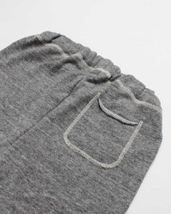 the cut-off short - grey heather