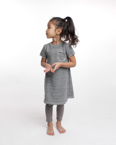 the play dress - grey heather
