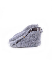 the bootie - grey heather