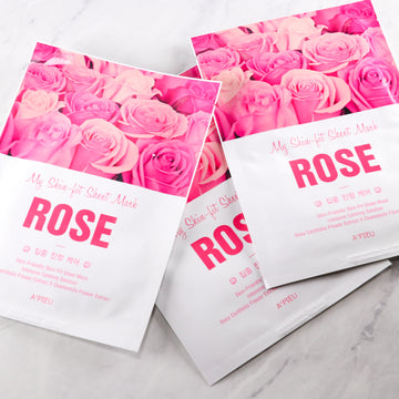 A'pieu My Skin-Fit Sheet Mask - Rose