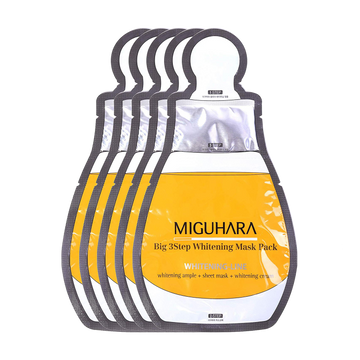 Miguhara Big 3 Step Whitening Mask