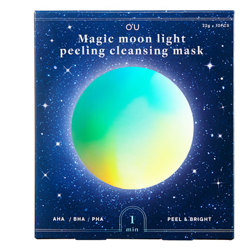O'U Magic Moon Light Peeling and Cleansing Mask
