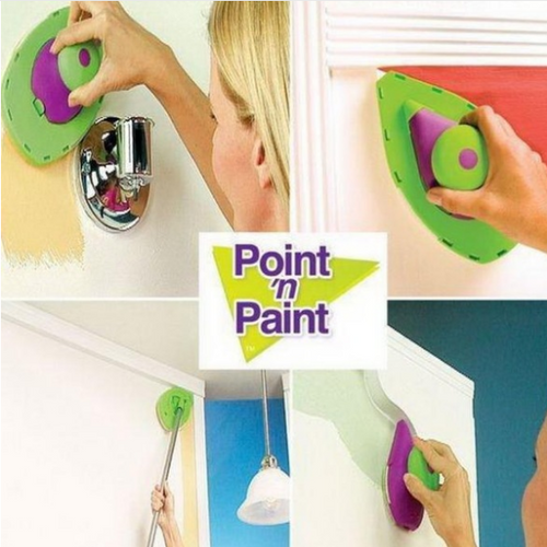 Point & Paint Roller and Tray Set