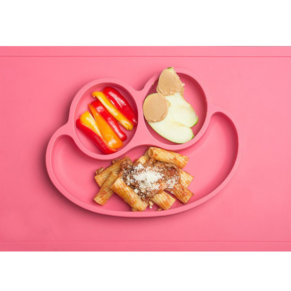 Kids Food Plate Mats- Happy Mat