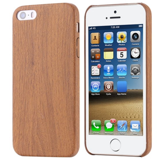 Wood Pattern Soft Leather PU case