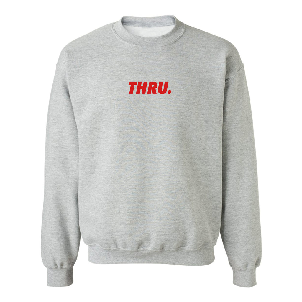 Red-Rock Crewneck - THRU.