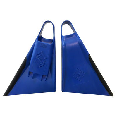 Air Hubb Swim Fins - Blue & Black
