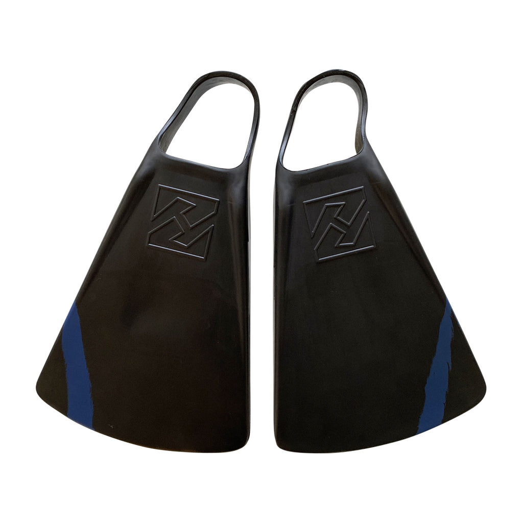 DubZero Swim Fins - Midnight Black