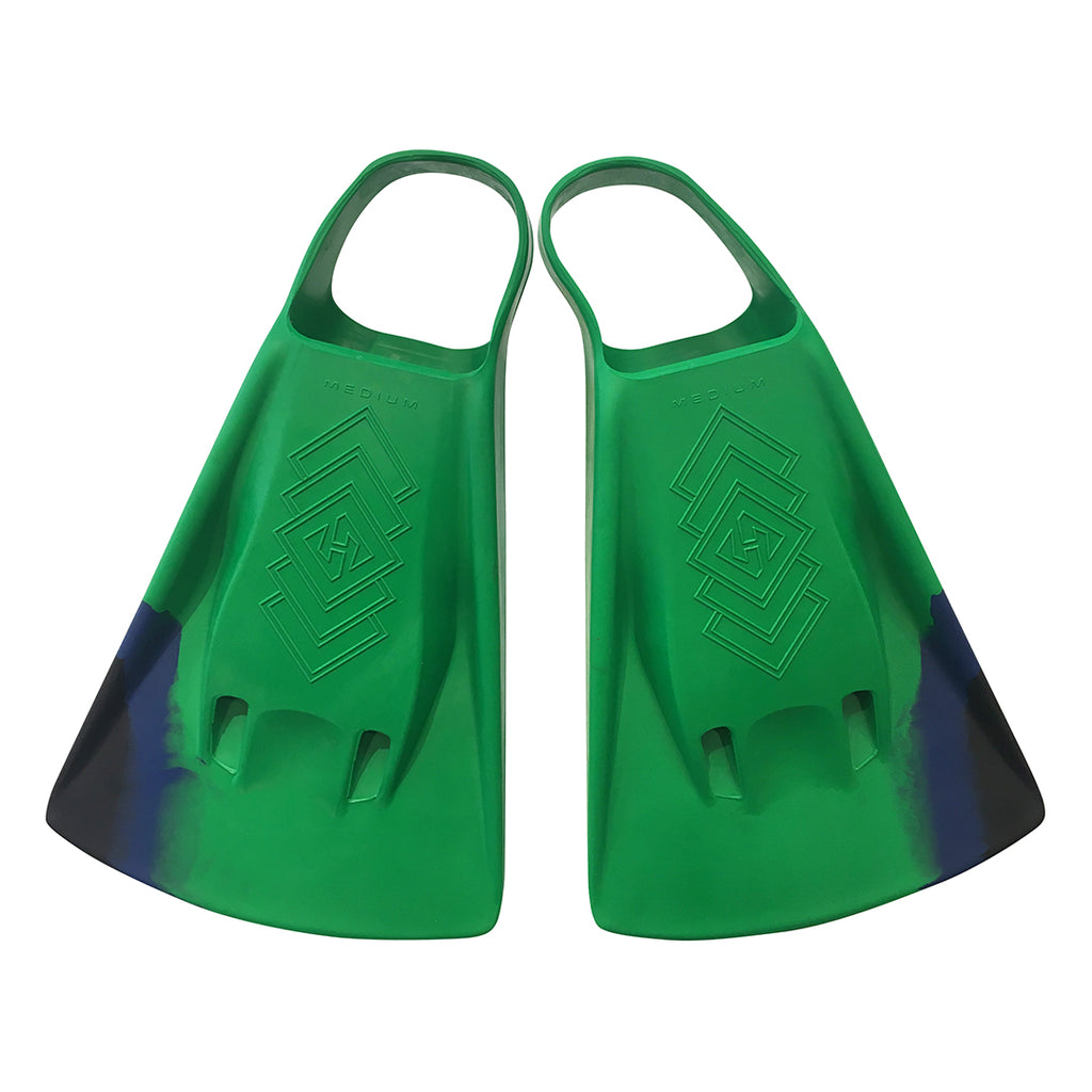 DubZero Swim Fins - Jungle Green