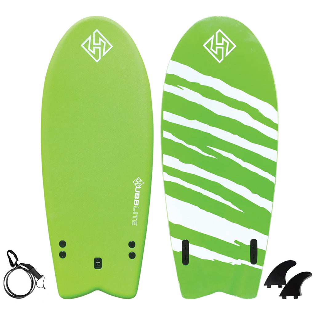 Hubb Lite Twin Fish Soft Surfboard