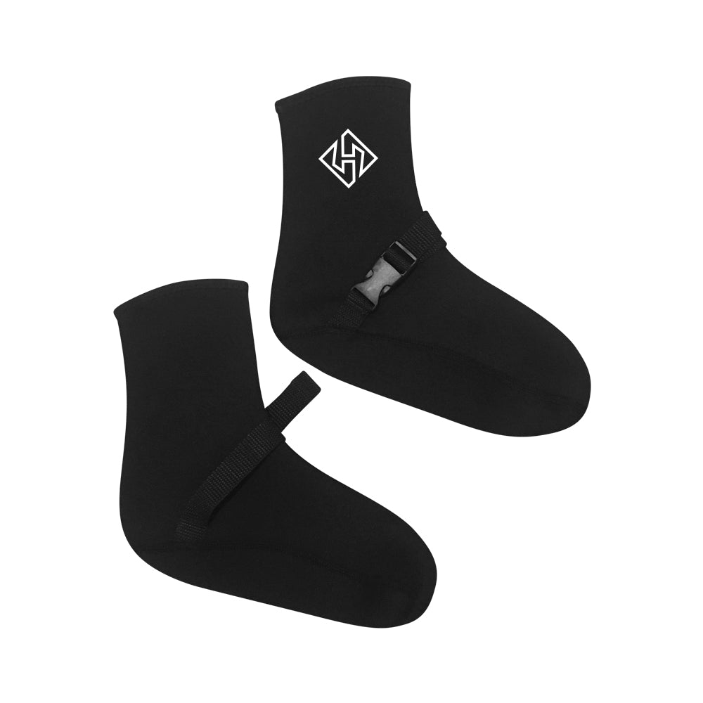2mm Neoprene Booties with Sock Lock- (*Built in Fin Tether)