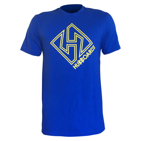 Hubboards Stay Gold Mens Tee - Blue