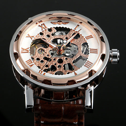 The Klick Accessories K424 RoseGlod Kinetic Watch