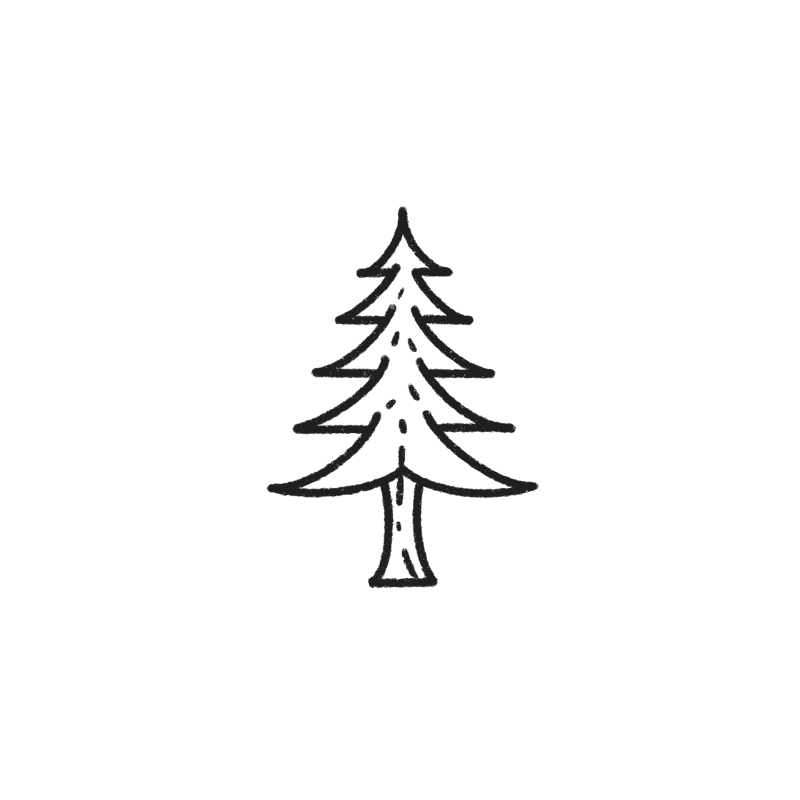Eco-friendly tree illustration