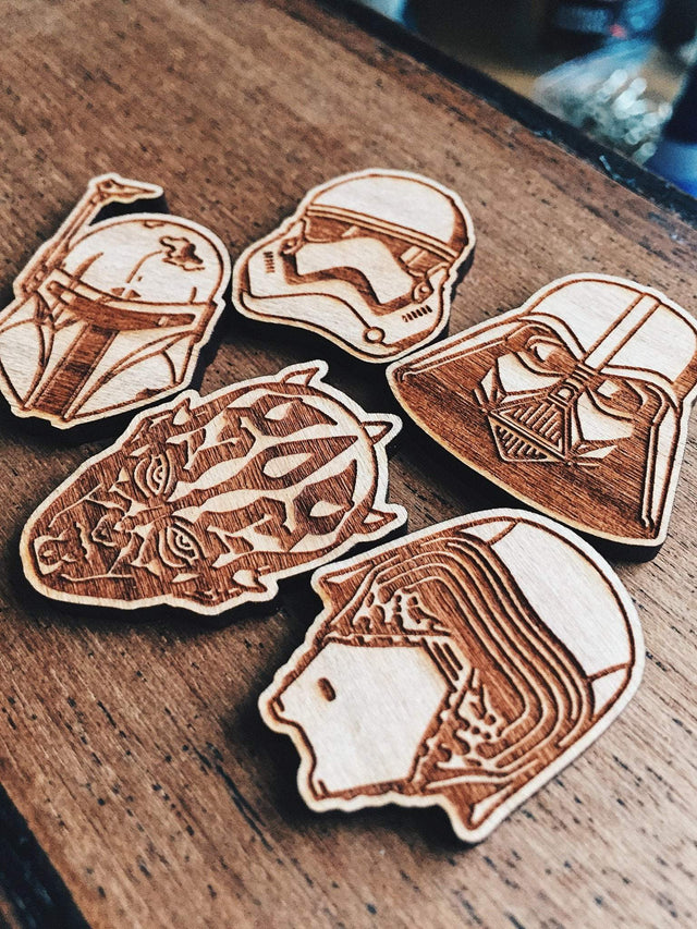Aleksandar Savic Star Wars Wooden Pin Set