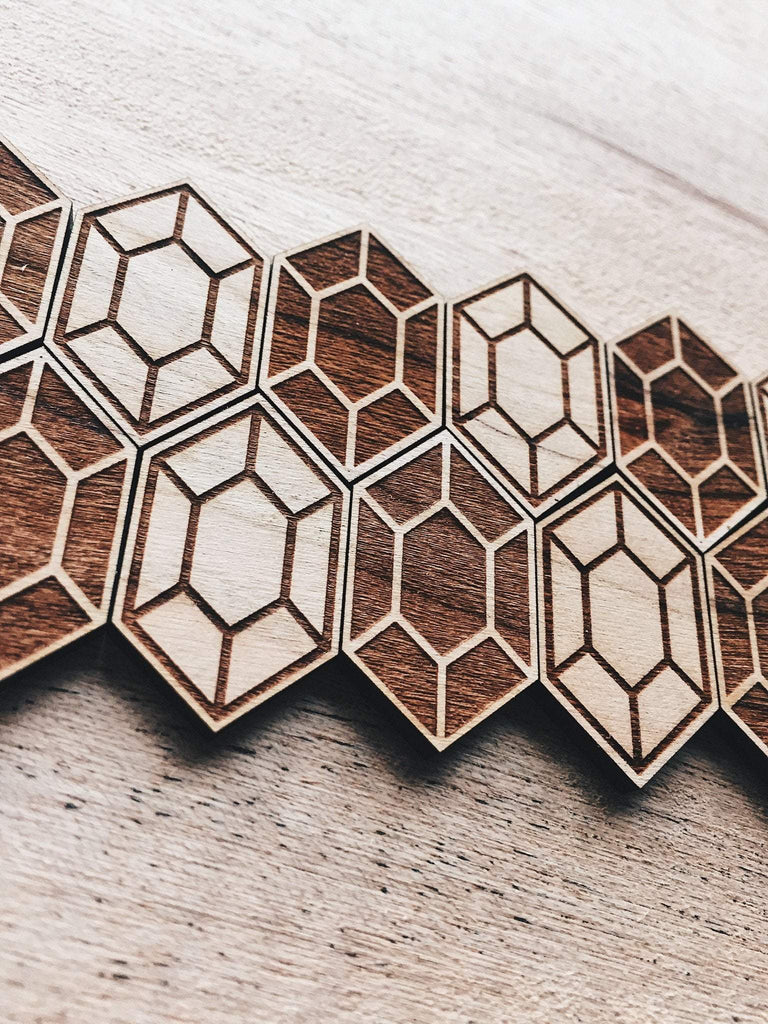 Jake Mize Rupee Wooden Pin Set