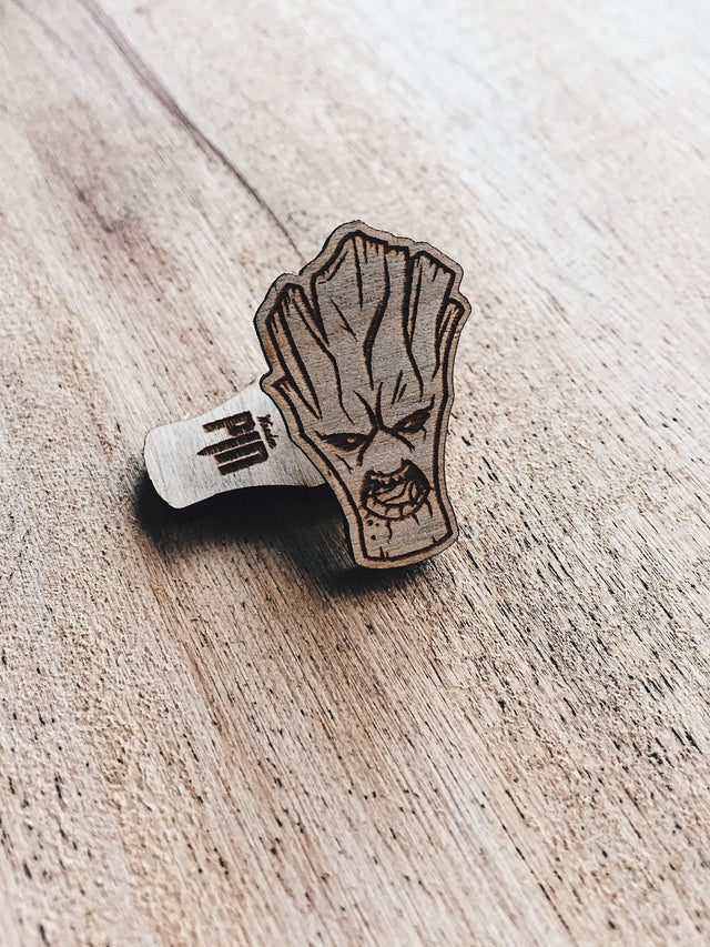 Lain Lee Groot Wooden Pin