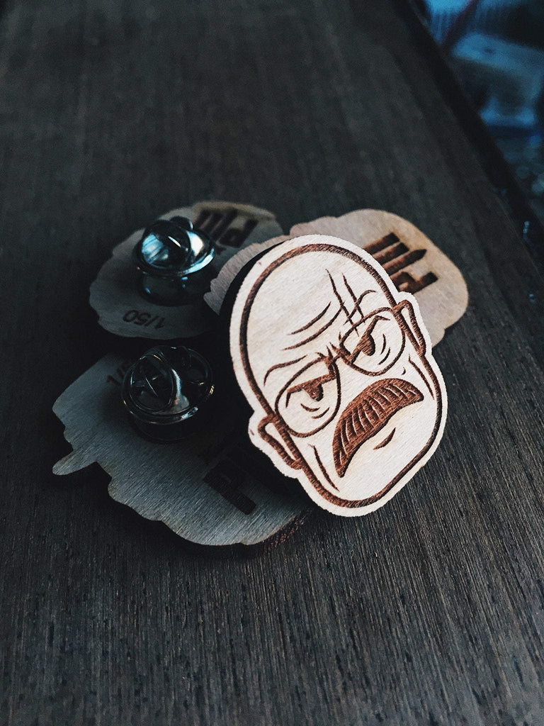 Lain Lee Walter White Wooden Pin Set