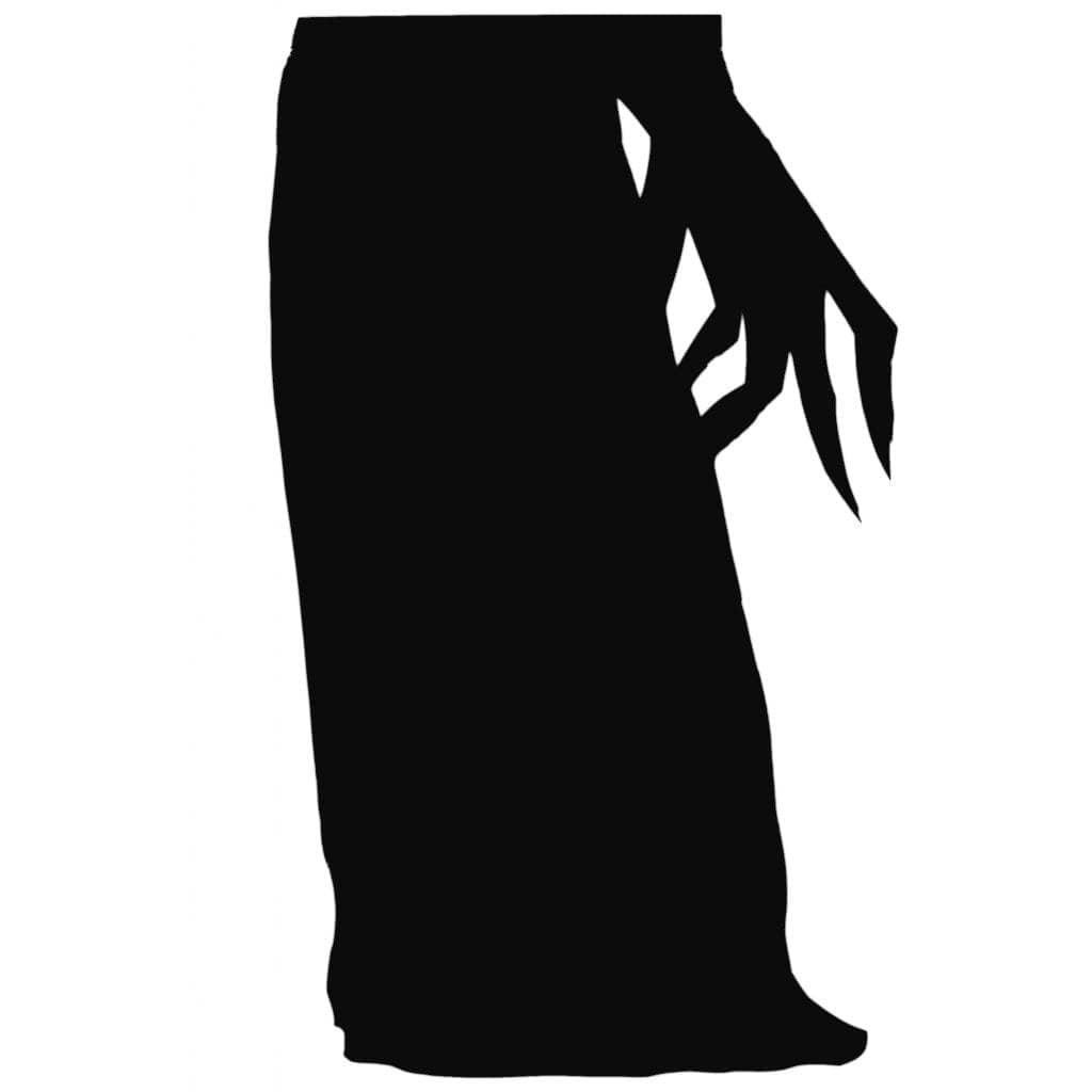 graphic relating to Witch Silhouette Printable named Halloween Window Silhouettes Free of charge Obtain