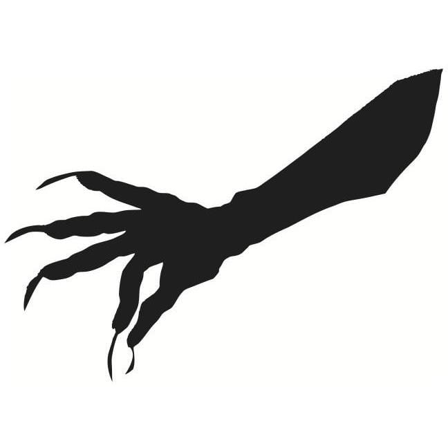 graphic relating to Witch Silhouette Printable identified as Halloween Window Silhouettes Cost-free Down load