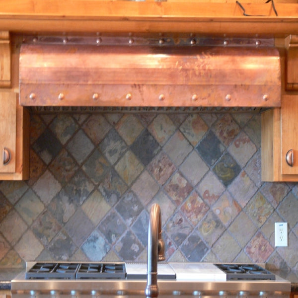 Copper Kitchen Extractor