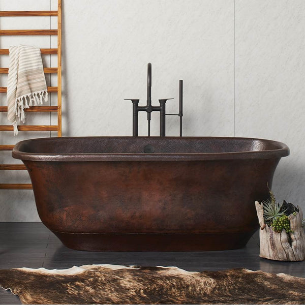 Copper Rustic Tub
