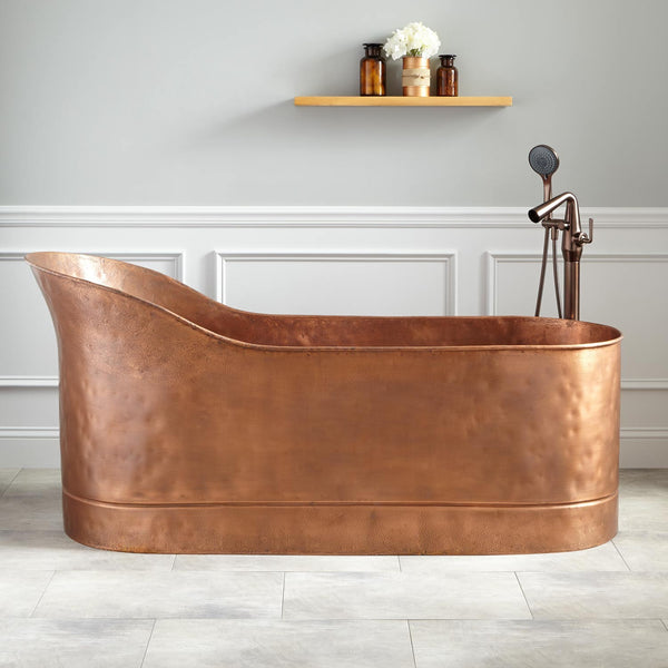 Copper Slipper Tub