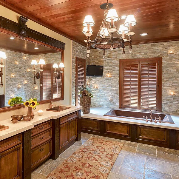 Copper Bathtubs and Bathroom Sinks