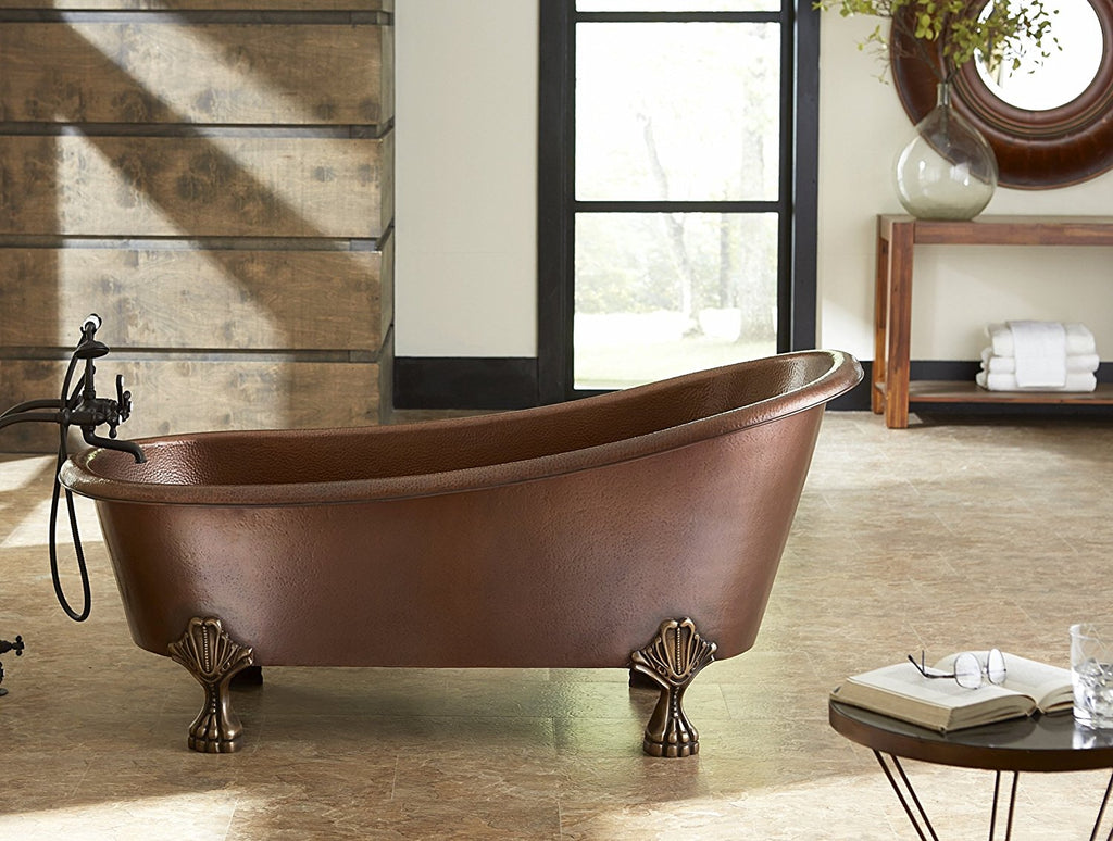 Custom Copper Soaking Tubs