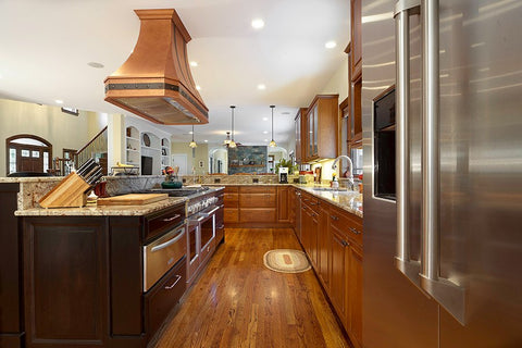 copper kitchen hood extractors