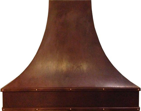 copper range hood