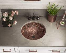 mexican copper sink