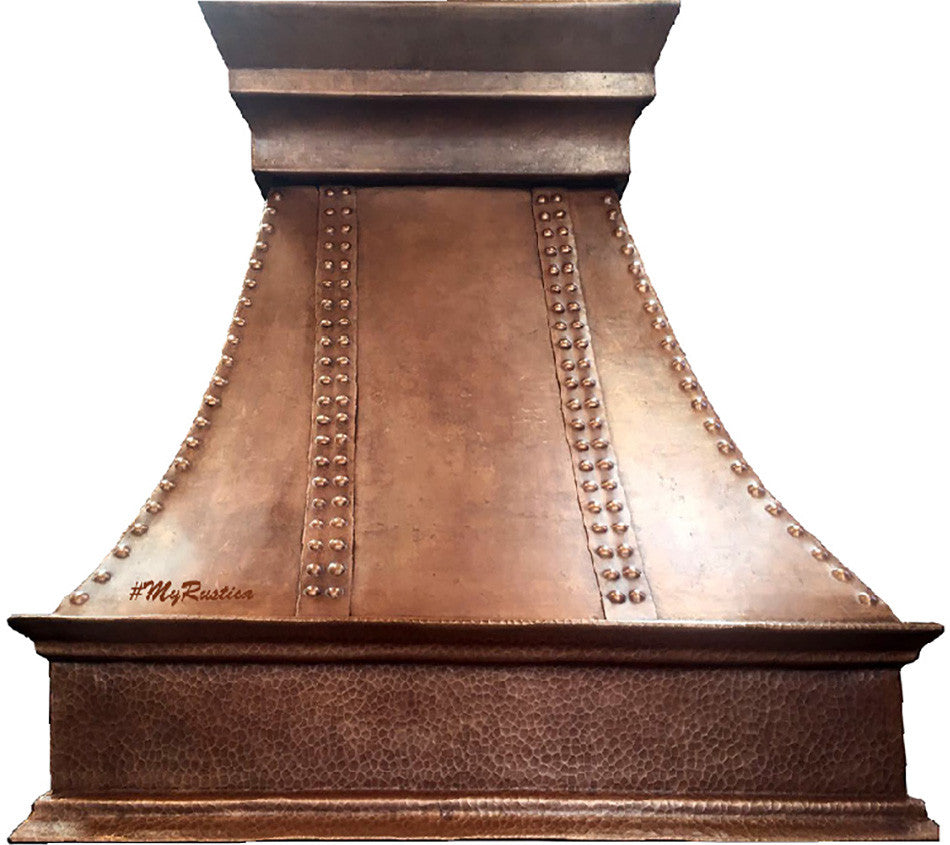 spanish copper vent hood