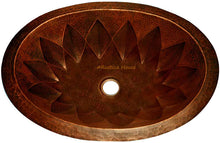 "Copper Bathroom Sink ""Salamanca"""
