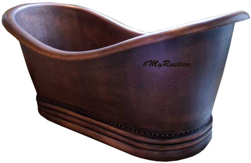 14 gauge copper tub