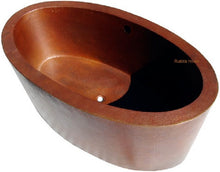 hacienda hand hammered copper tub