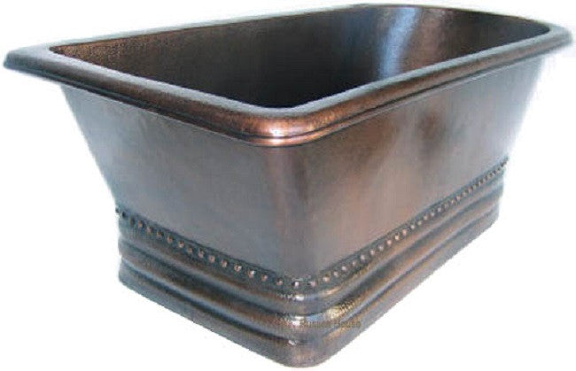 antique slipper copper tub