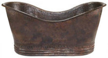 country slipper copper tub