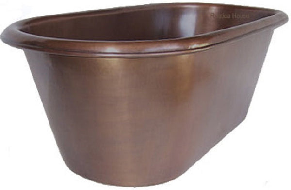 traditional copper tub