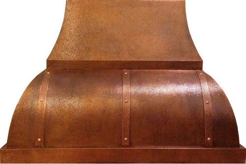 mexican copper vent hood
